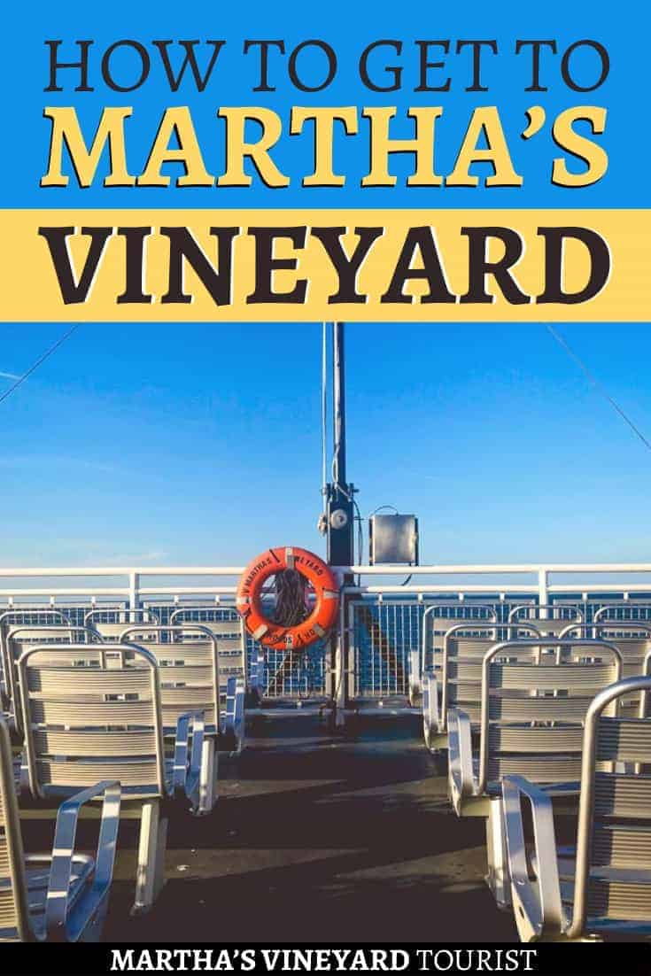 How to get to martha's vineyard