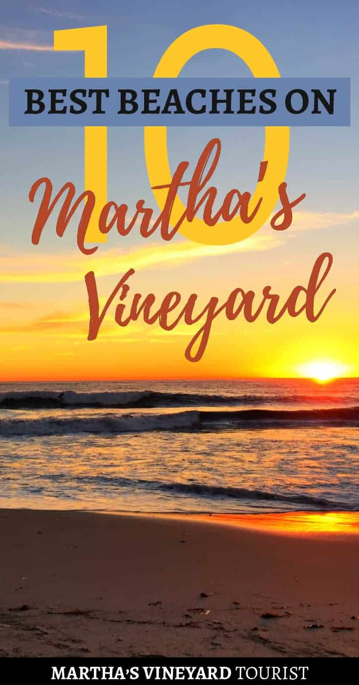 10 Best Beaches on Martha's Vineyard