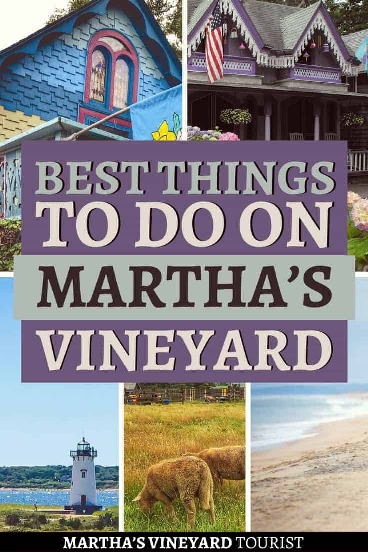 Best things to do in martha's vineyard