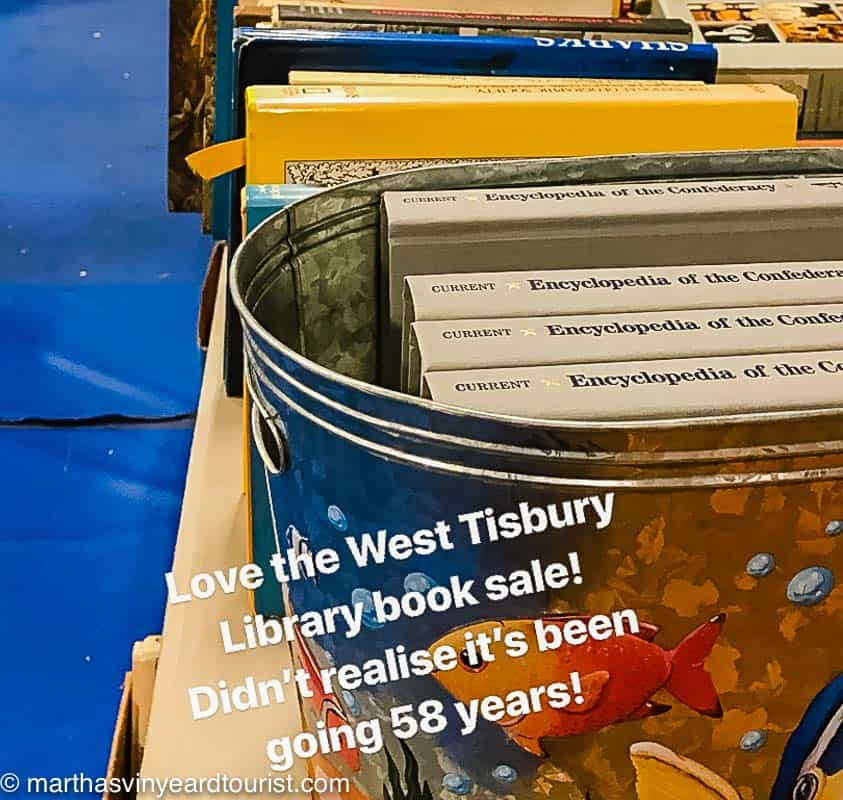West Tisbury Annual library sale
