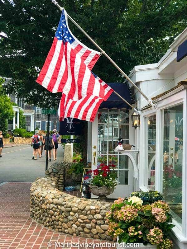A store in Edgartown