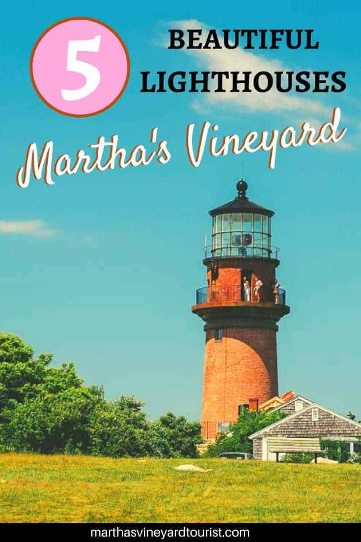 5 Beautiful Lighthouses in Martha's Vineyard