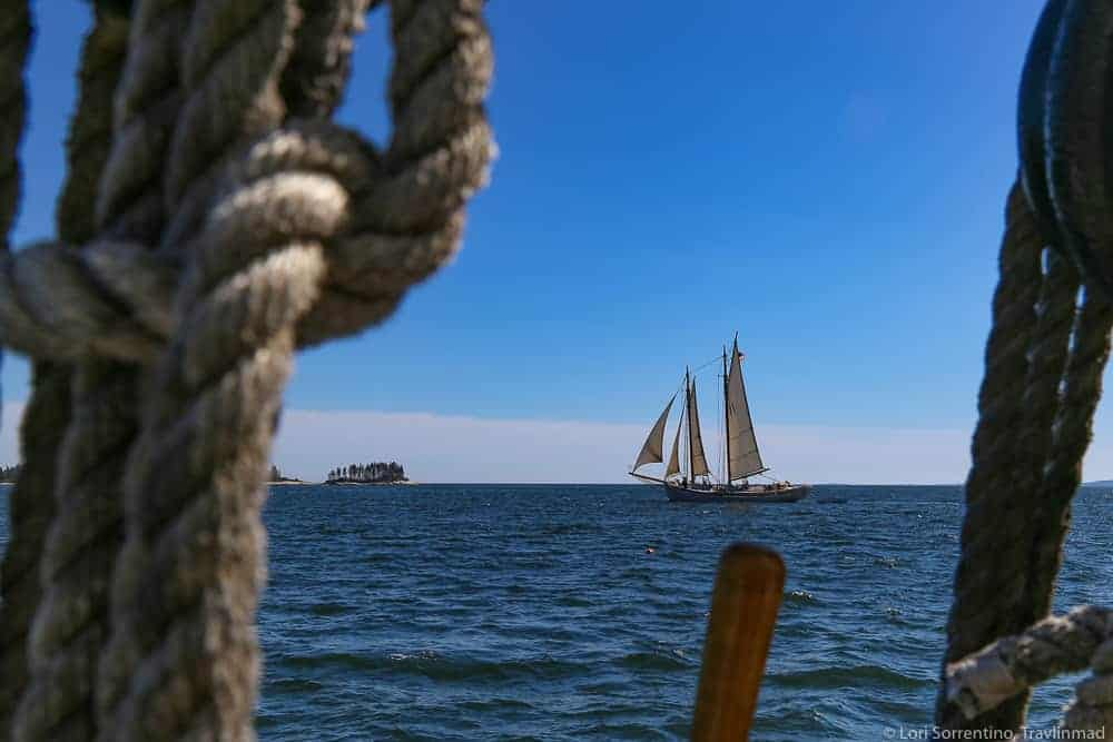 Windjammer cruise in New England
