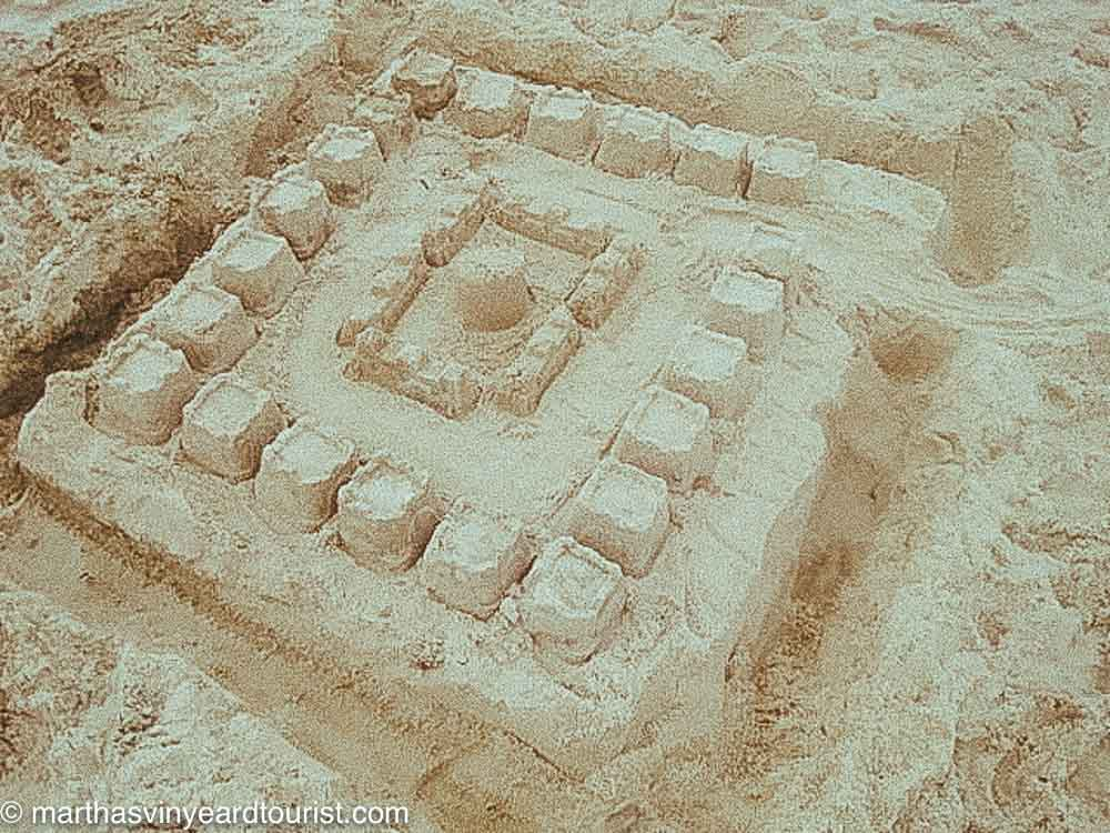 city made out of sand