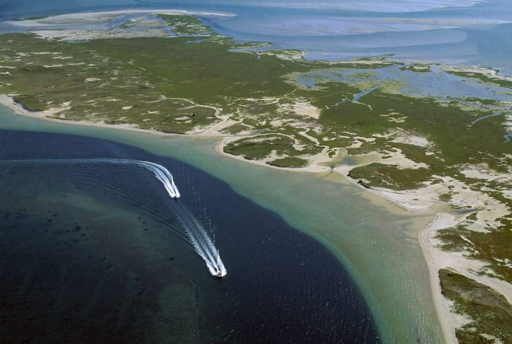 Aerial view of Cape Cod