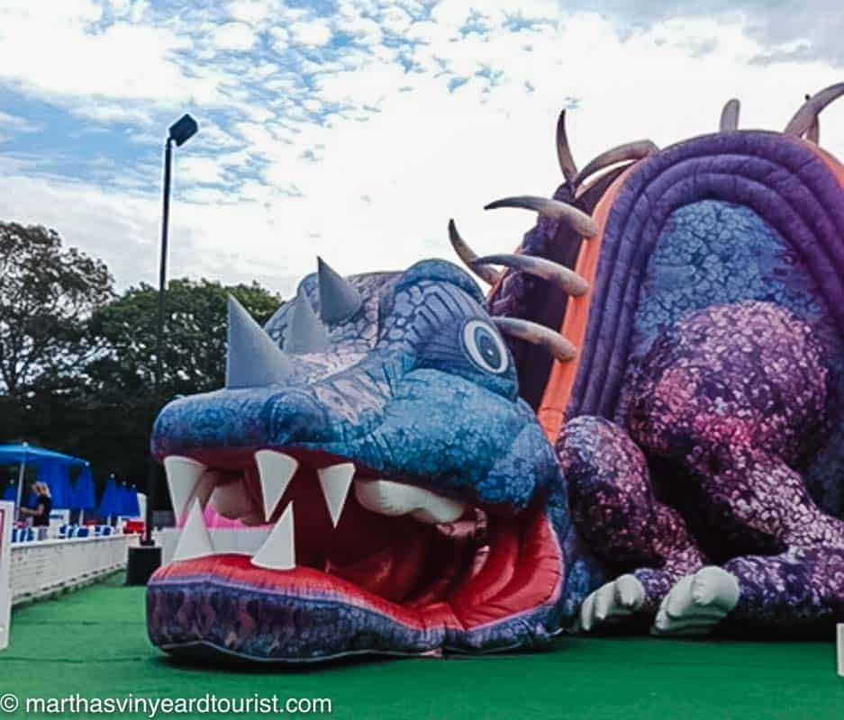 dragon at Cape Cod Inflatable park