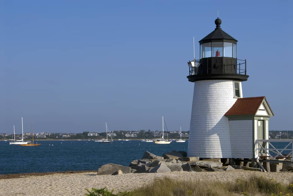 Brant Point Lighthouse on Nantucket Island