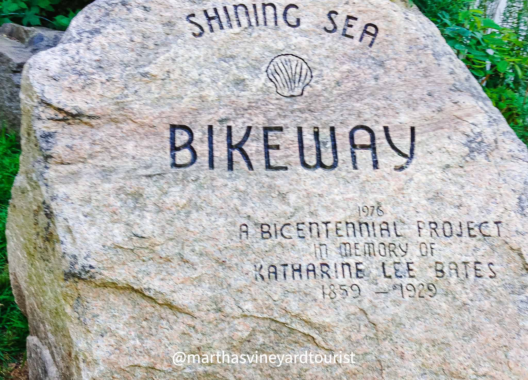 Shining Sea Bikeway in Cape Cod