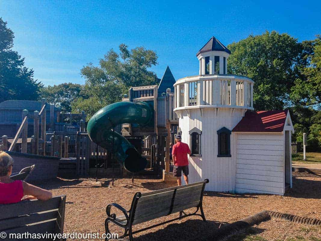 playground in Falmouth Cape Cod Massachusetts