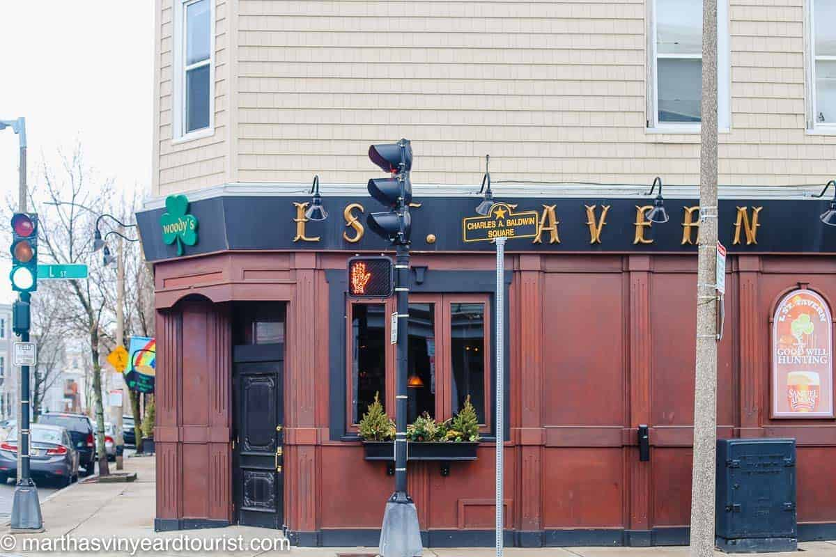 The exterior of the L Street Tavern South Boston