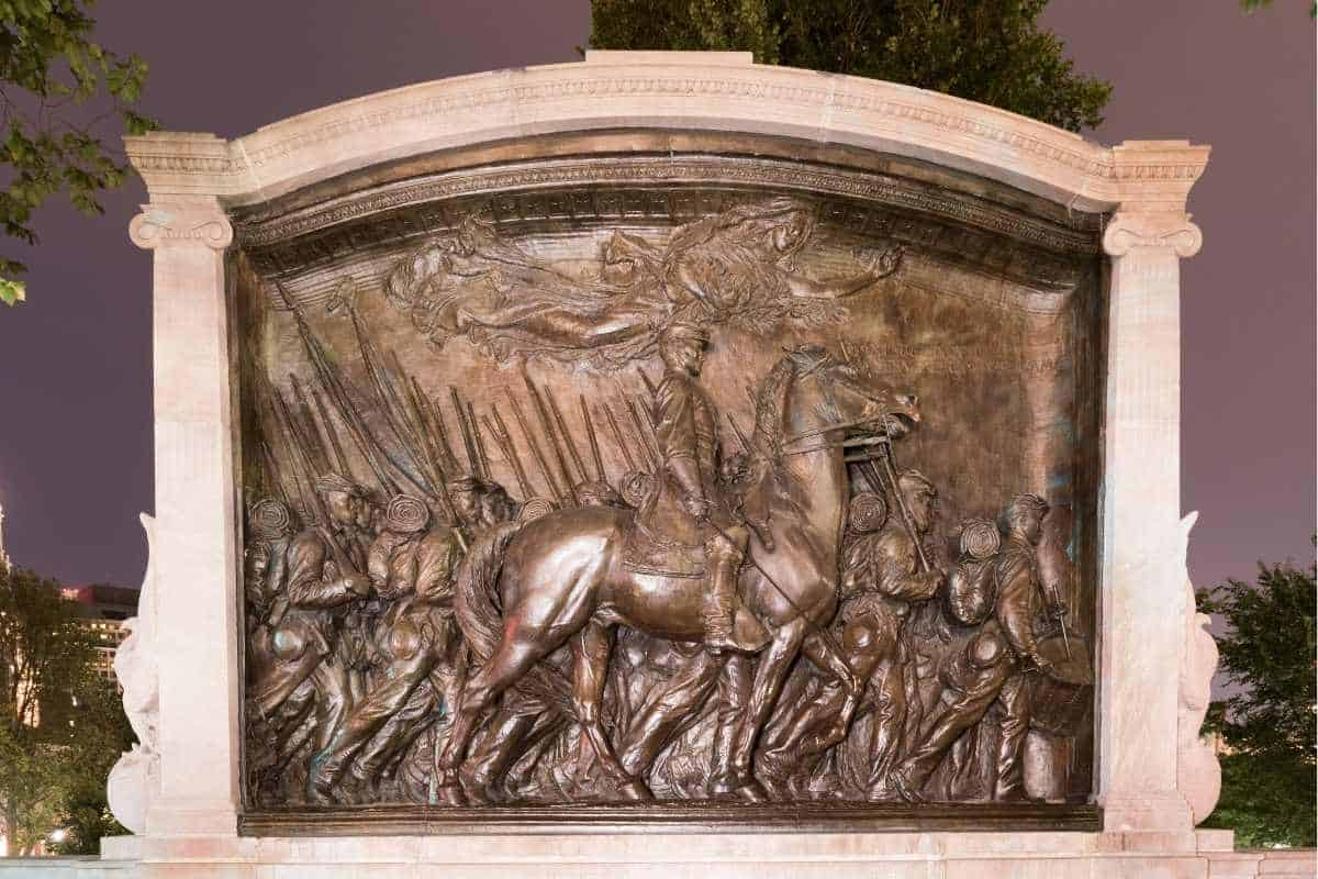 Robert Gould Shaw and the 54th Regiment Monument
