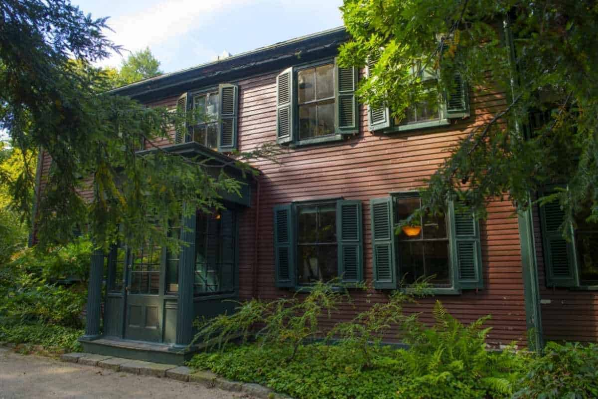 Frederick Law Olmsted National Historic Site in Brookline Massachusetts