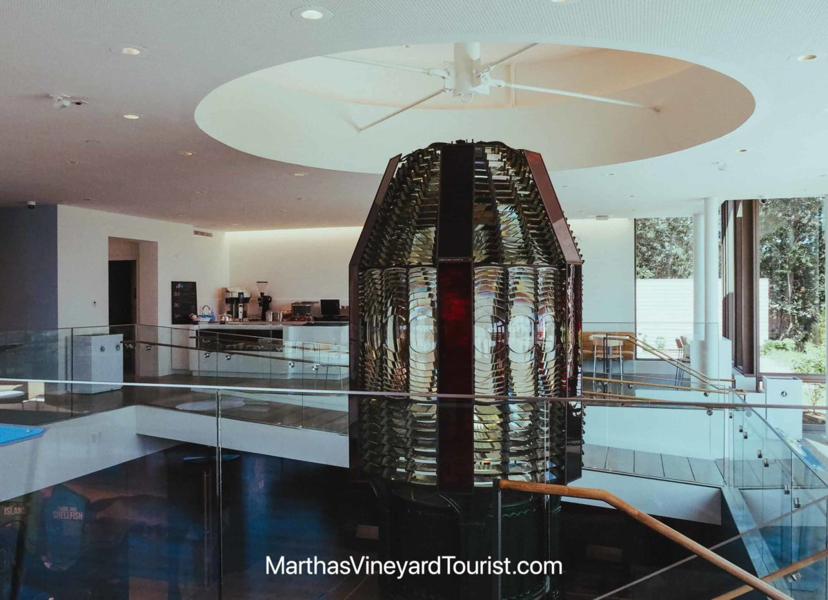 19th century Fresnel Lens at the Martha's Vineyard Museum