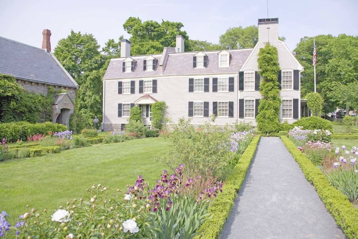 Peacefield, the home of John and Abigail Adams