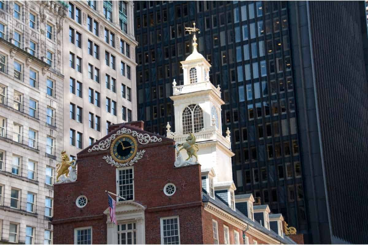 The Old State House in Boston Massachusetts